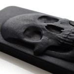 iPhone 3d skull case