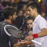 Imperious Djokovic Marches On ; Tipsarevic Toils to Prevail