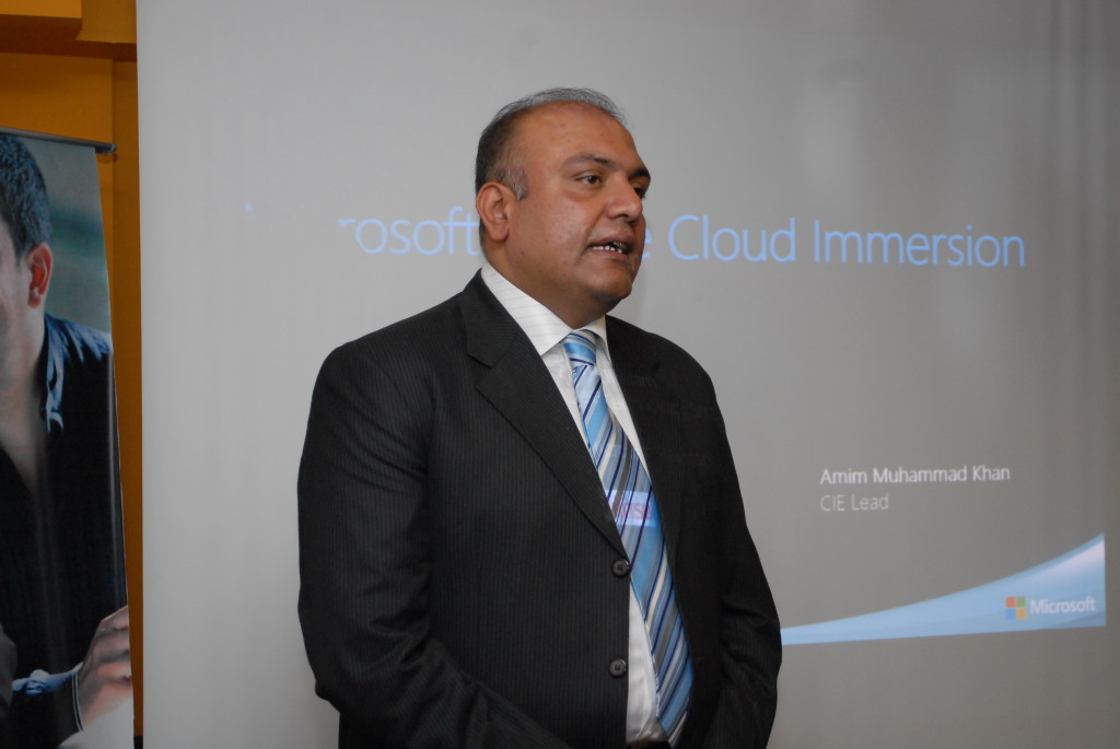 Mr. Amir Rao - Country Manager (Microsoft Pakistan)