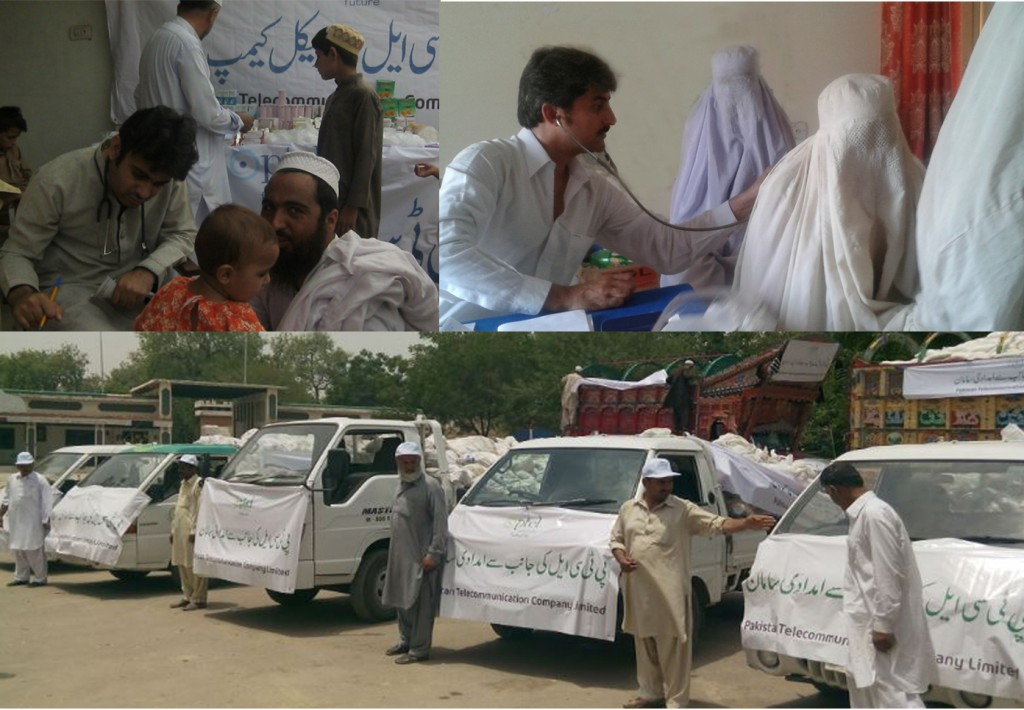 PTCL-relief operations